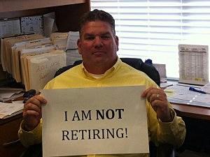 "Kevin Williams' retirement ""announcement"""