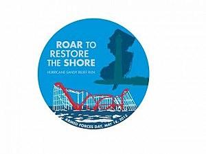 Roar To Restore The Shore logo