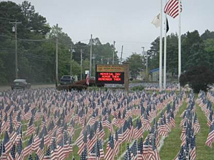 Field of Flags 2012, Southern Regional High School, Manahawkin
