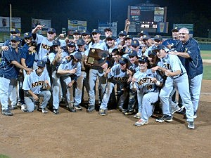 Toms River North baseball team after winning Shore Conterence tournement