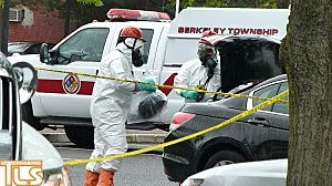 The Berkeley Hazardous Material team investigates a suspicious package brought to Lakewood Police HQ