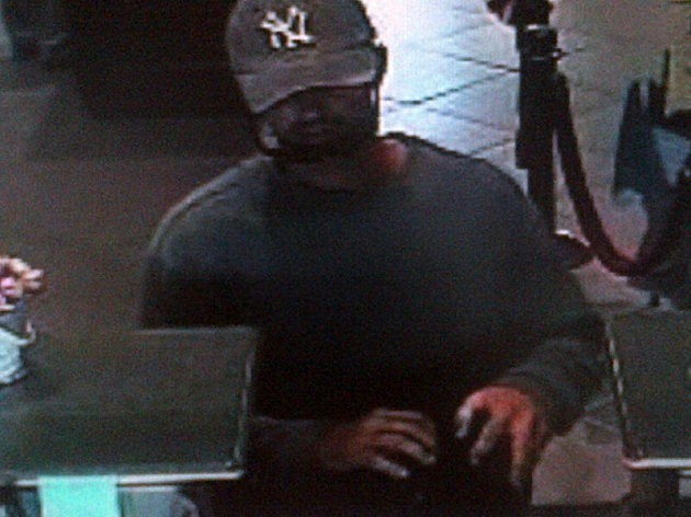 Surveillance photo of Ocean First robbery suspect