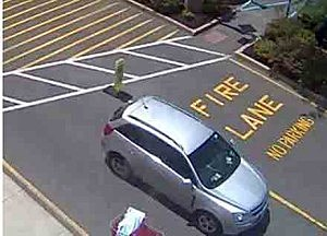 Suspect vehicle at Target in Howell