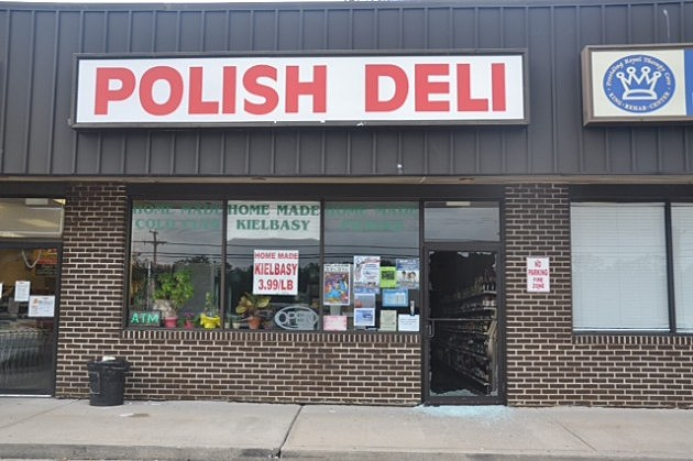 Damage to Polish Deli on Route 37 in Toms River following robbery