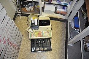 One of the cash registers robbed in Toms River