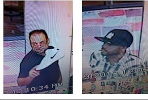 Suspects believed to have used a stolen credit card in downtown Lakewood (Lakewood PD)