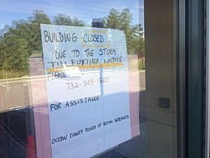 Shuttered Ocean County Southern Services Bureau (Jason Allentoff, Townsquare Media)
