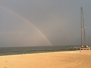 Rainbow at Seaside Heights