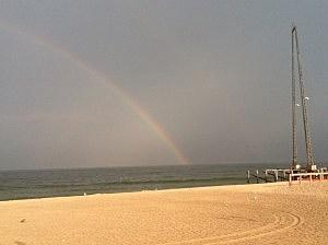 Rainbow at Seaside Heights