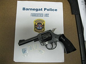 Handgun and Heroin Seized in Barnegat Street Arrest (Barnegat PD)