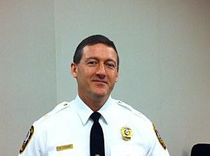 Asbury Park Police Chief Mark Kinmon