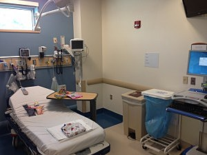 Inside the Martin Truex, Jr. Pediatric Care Center