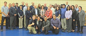 Members of the 17th Monmouth Citizen's Police Academy (Cynthia Scott)