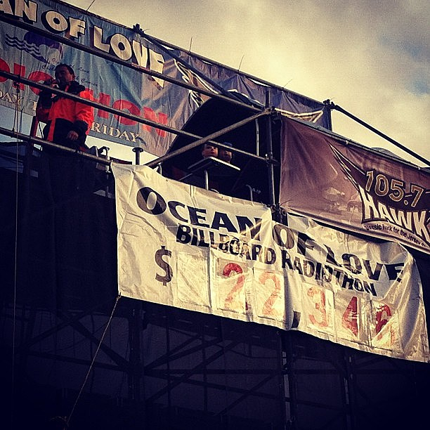Ocean of Love billboard