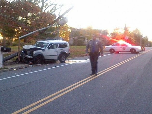 Accident on Mapletree Road in Toms River