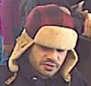 Suspect in Monday Robbery at TD Bank, Toms River (Toms River PD)