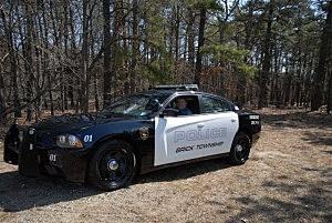 Brick Police cruiser