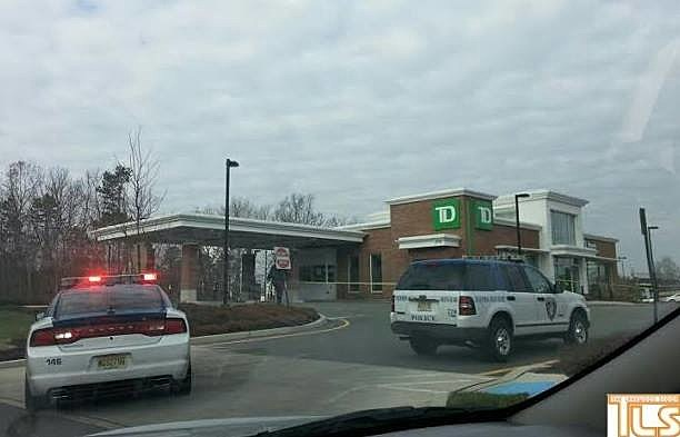 Police respond to bank robbery at Toms River TD Bank branch