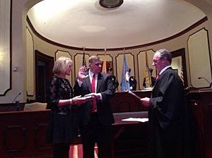 Mike Mastronardy is sworn in as Ocean County's new Sheriff