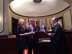 Mike Mastronardy is sworn in as Ocean County's new Sheriff