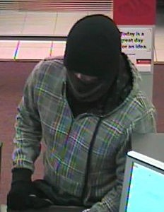 Santander Bank Robbery Suspect, Toms River, Friday January 24 (Toms River PD Chief Mitchell Little)