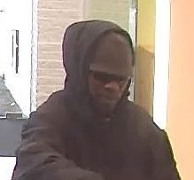 TD Bank Robbery Suspect, Toms River, Friday January 24 (Toms River PD Chief Mitchell Little)
