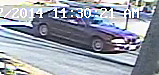 Image of car involved with burglary