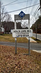 Office in front of Dr. Liviu T. Holca's  office in Manahawkin