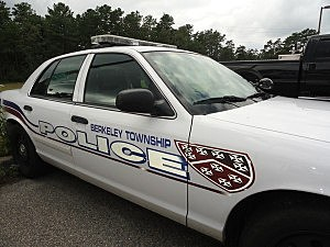 Berkeley Township police cruiser