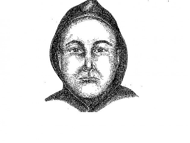 Sketch of Brick kidnapping suspect