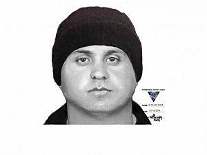 Police sketch of Ocean Twp robbery suspect
