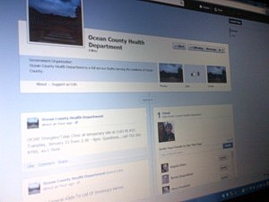 Ocean County Health Department Facebook page