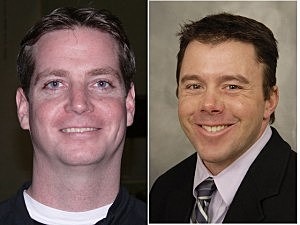 (L-R) Shore Sports Network's Scott Stump and Matt Harmon