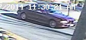 BMW tied to Toms River burglary suspect (Toms River Police Dept.)