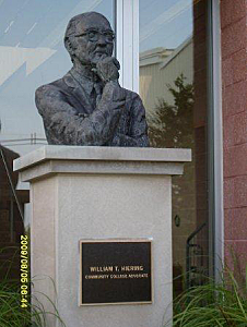 William Hiering Statue at Ocean County College (Toms River Police Dept.)