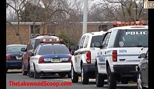 Law enforcement outside Lakewood HIgh School during drug sweep