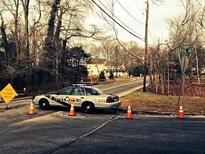 Ocean Township Police cruiser