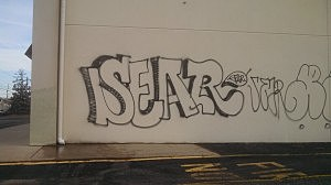 SEAR Graffiti (Brick Township Police Dept.)