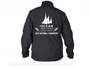 Women's track team championship jacket