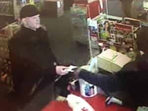 Suspected Credit Card Thief