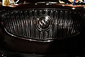The front grill of the new 2014 Buick LaCrosse
