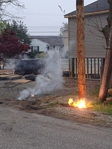 Electrical Line Mishap in Toms River (Toms River PD)