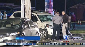 Accident on Route 9 in Beachwood involving two police cruisers