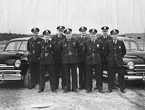 Toms River Police circa 1950