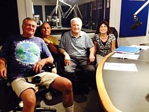 (Left to right) Robert Filipczak, John Sluka, Stephen Brill, Michele Spector.
