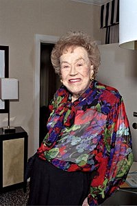 Julia Child at her 90th birthday celebration