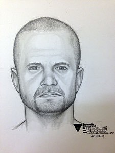 Police sketch of Ocean Township luring suspect