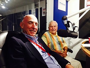 Toms River Township Planner Jay Lynch (left) and Mayor Tom Kelaher.