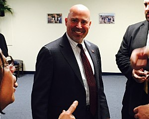 Rep. Tom MacArthur in his Ocean County District Office (Townsquare Media)