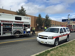 Manchester Township High School Science Lab Spill Scene (Manchester PD)